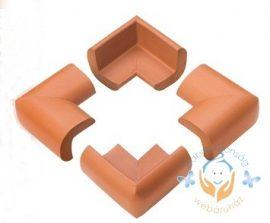 Sarokvédő - barna (4 db/cs)