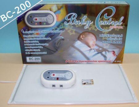 BabyControl digitális légzésfigyelő - BC200