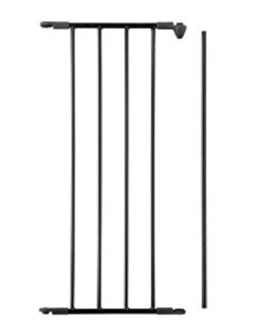 Babydan Térelválasztóhoz 33 cm-es FEKETE színű bővítő elem
