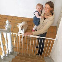 Extra magas ajtórács kutyák számára is (63,7 - 107 cm)