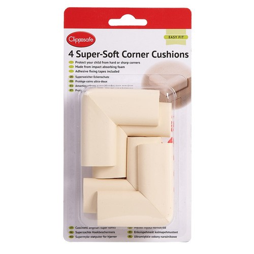 Sarokvédő extra puha - 4 db/cs, fehér